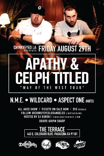 Apathy + Celph Titled: Main Image