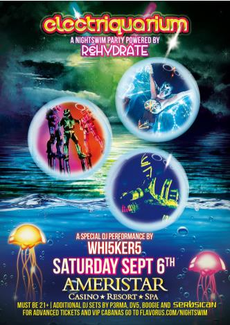 Electriquarium Nightswim Party: Main Image