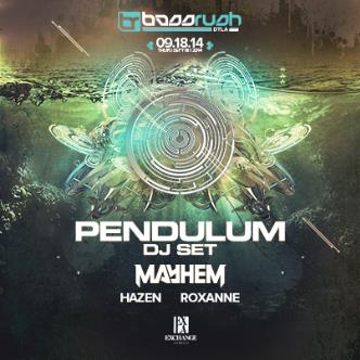 Pendulum (DJ Set) & Mayhem: Main Image