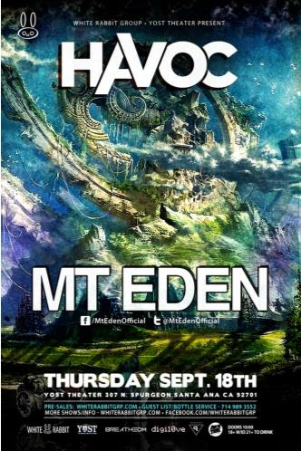Havoc OC ft. Mt. Eden: Main Image