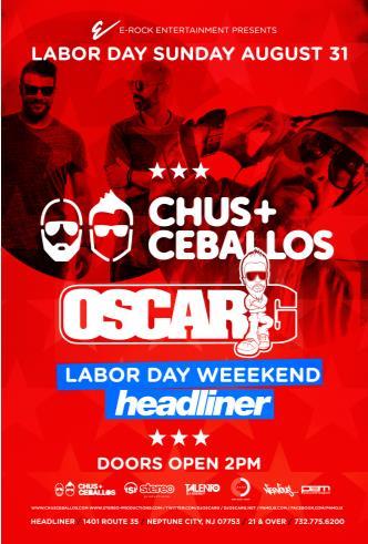 CHUS & CEBALLOS + Oscar G: Main Image