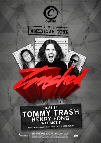 TOMMY TRASH TOUR: Main Image