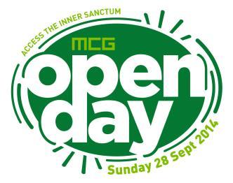 MCG Open Day: Main Image