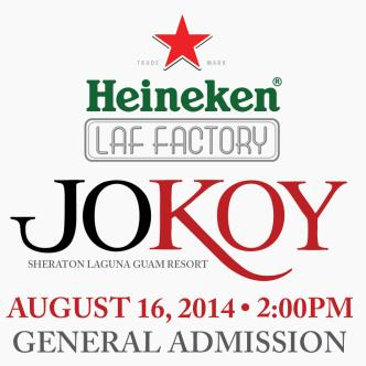 HLF  Presents JOKOY: Main Image