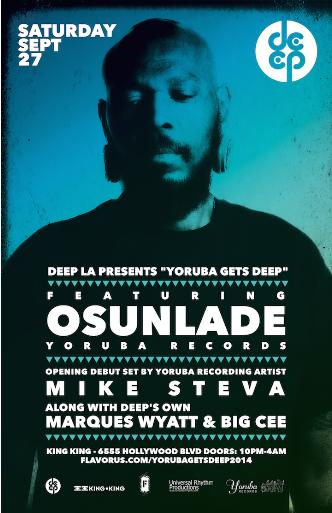 DEEP Presents OSUNLADE: Main Image