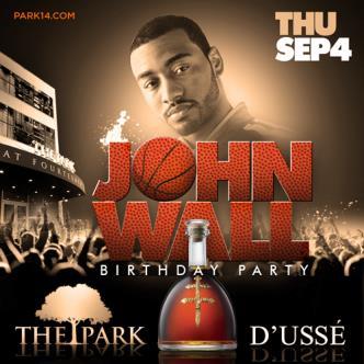 John Wall Birthday Bash!: Main Image