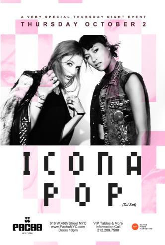 ICONA POP (DJ Set): Main Image