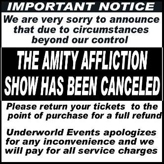 The Amity Affliction: Main Image