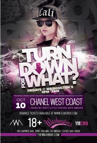 Chanel West Coast @  WashBar: Main Image