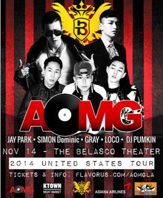 AOMG TOUR 2014 - LOS ANGELES: Main Image