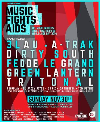 MUSIC FIGHTS AIDS: Main Image