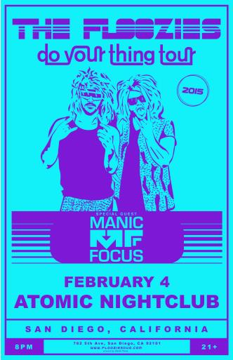 The Floozies / Manic Focus **TICKETS AVAILABLE AT THE DOOR**: Main Image