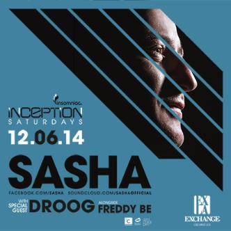 Inception ft. Sasha: Main Image