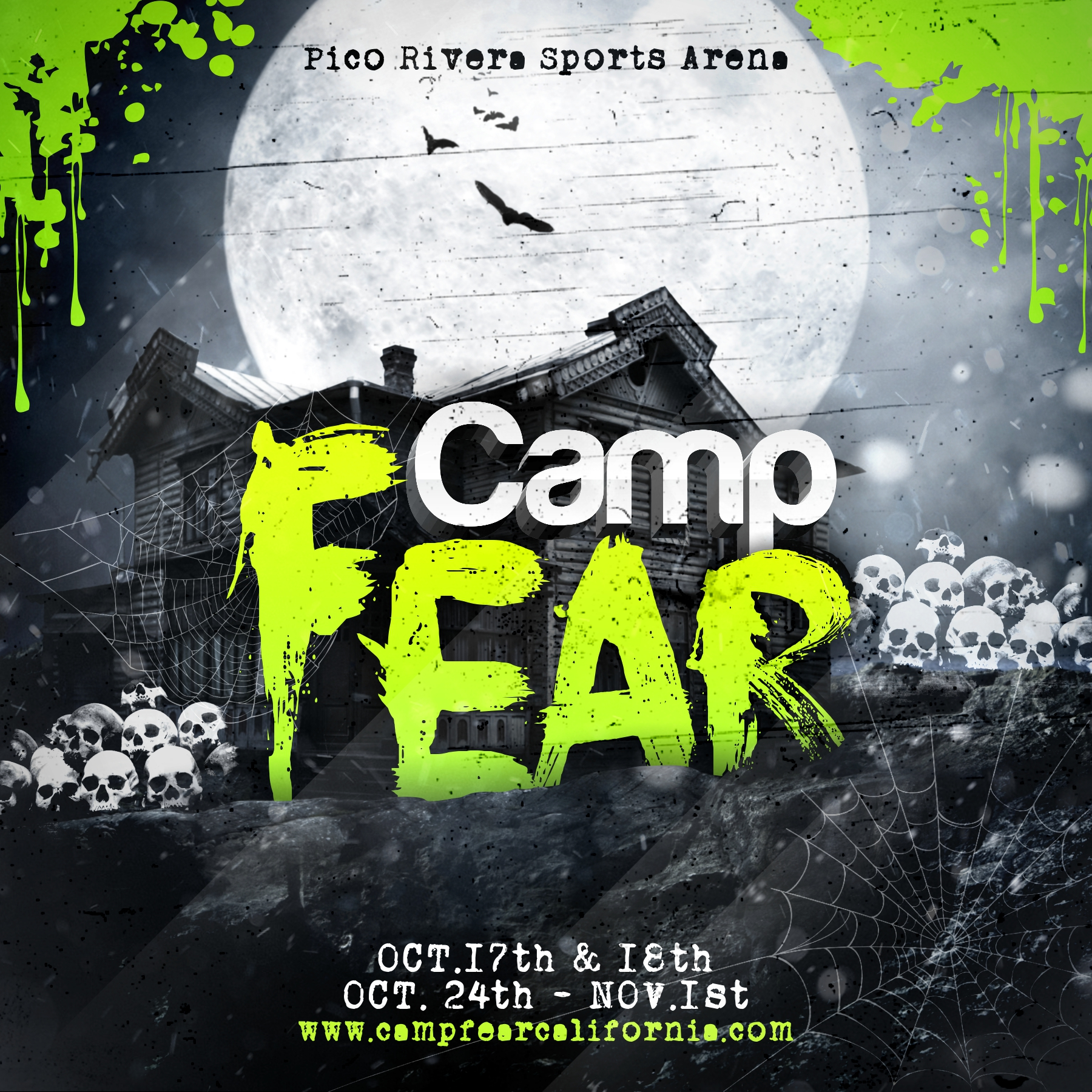 Haunted Places In Whittier California: Buy Tickets To CAMP FEAR / EDM HALLOWEEN In Whittier