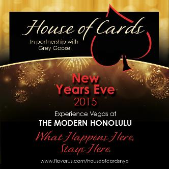 House of Cards NYE 2015: Main Image