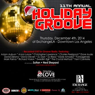 Groove Radio's Holiday Groove: Main Image