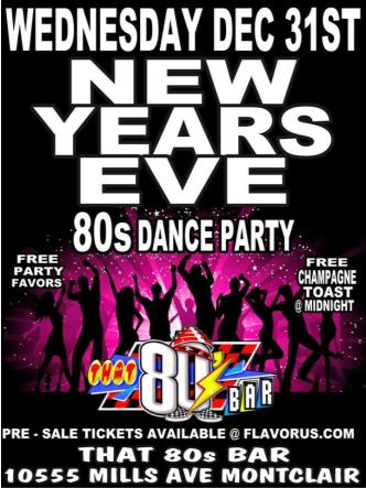 80s New Years Eve Dance Party: Main Image