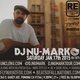 Re:Fresh presents DJ Nu-Mark: Main Image