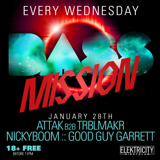 Bass Mission Free Before 11pm Tickets 01 28 15