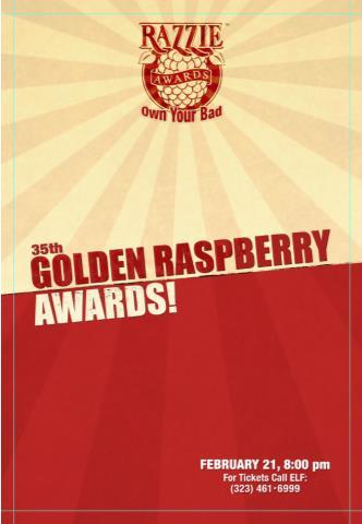 35th RAZZIE AWARDS: Main Image