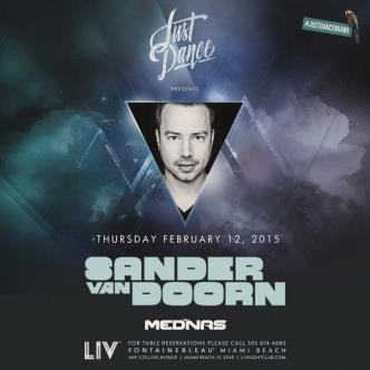 Just Dance presents: Sander Van Doorn LIV: Main Image