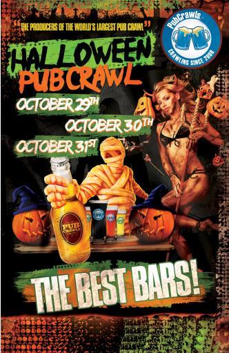 Baltimore Halloween Pub Crawl Weekend