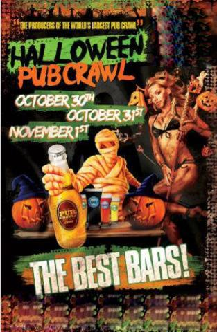 Chicago Halloween Pub Crawl Weekend