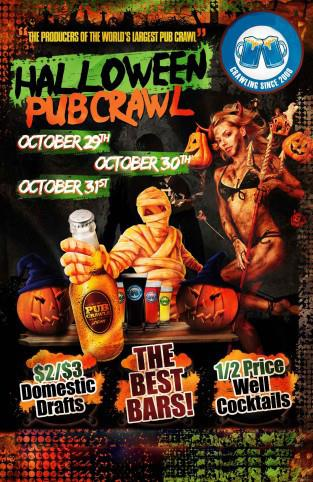 New York City Halloween Pub Crawl Weekend