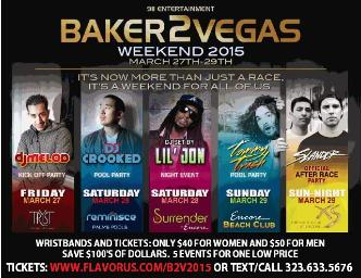 BAKER 2 VEGAS 2015: Official Party Weekend: Main Image