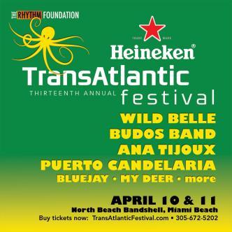 Heineken TransAtlantic Festival 2 day pass: