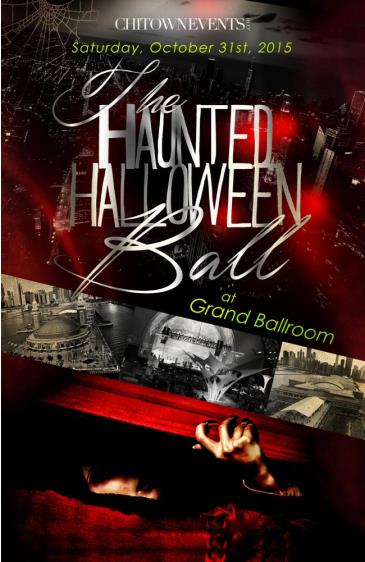 The Haunted Halloween Ball at Navy Pier's Grand Ballroom