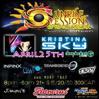Sunrise Sessions w/ Kristina Sky of Sleeping Giant Music: Main Image