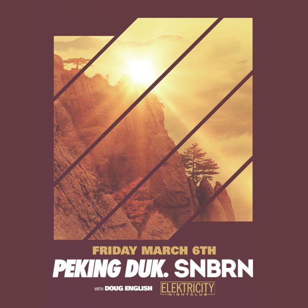Peking Duk Amp Snbrn Tickets 03 06 15