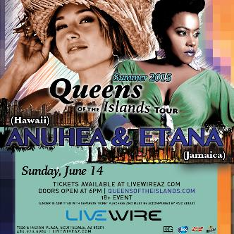 Queens of the Islands Tour featuring ANUHEA & ETANA: Main Image