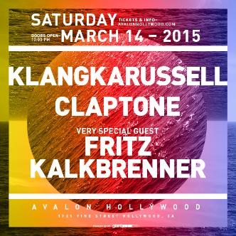 Klangkarussell, Claptone, Special Guest Fritz Kalkbrenner: Main Image
