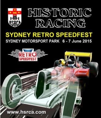 2015 Sydney Retro Speedfest: Main Image