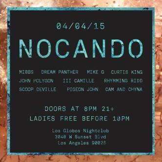 NOCANDO + Very Special Guest.: Main Image