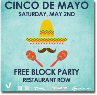 Cinco De Mayo Hispanic Cultural Celebration Party 5pm: Main Image