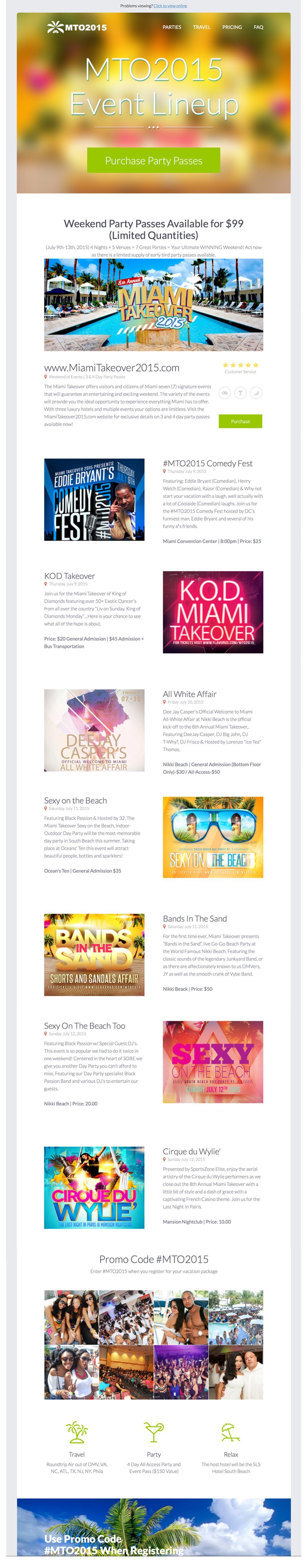 the 8th annual miami takeover tickets the miami beach convention