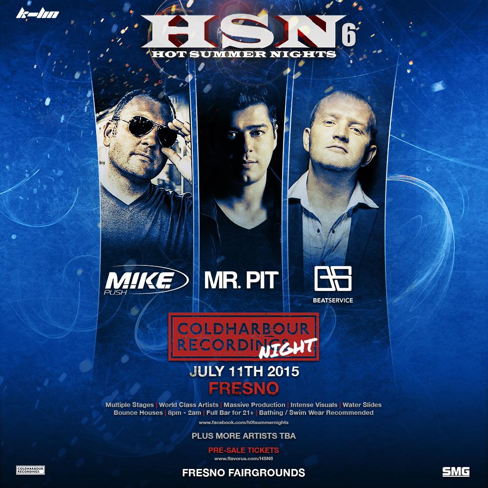 Hot Summer Nights 6 Tickets 07 11 15