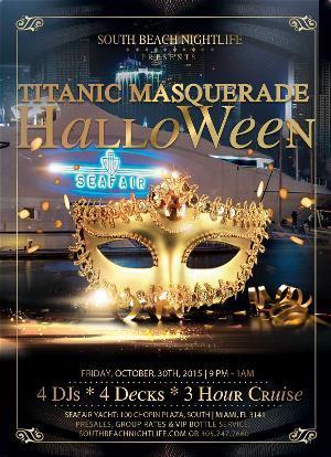 Titanic Masquerade Halloween - Pier Pressure Miami
