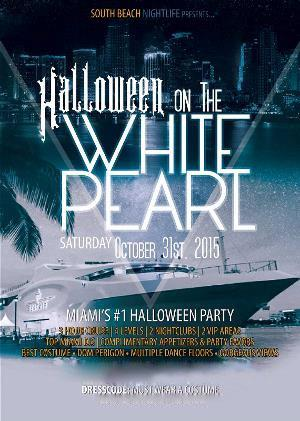 The White Pearl Halloween Yacht Party