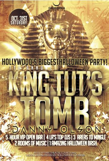7th Annual King Tuts Tomb Halloween
