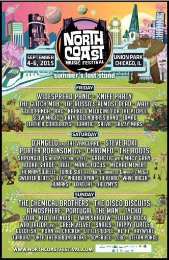 North Coast Music Fest 2015: Main Image