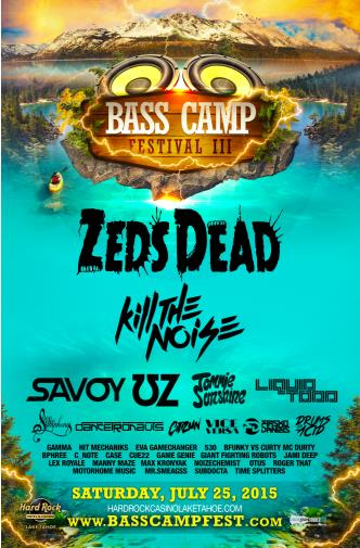 BASS CAMP FESTIVAL 2015: Main Image