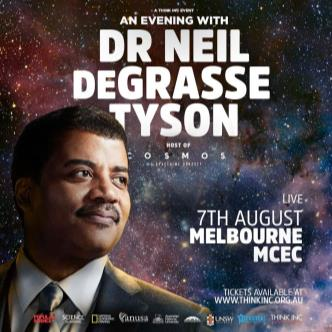 An Evening with Dr Neil deGrasse Tyson