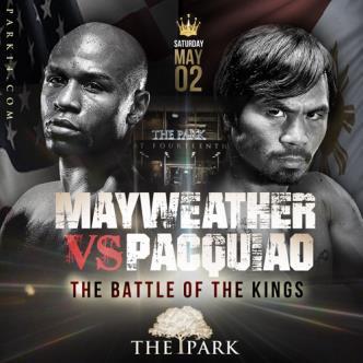 LIVE!! Mayweather v. Pacquiao: Main Image