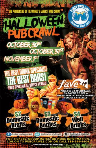 Official Halloween PubCrawl Washington D.C.