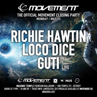 The Official Movement Closing Party: Main Image