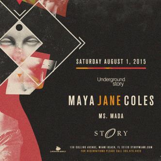Maya Jane Coles #UndergroundStory-img